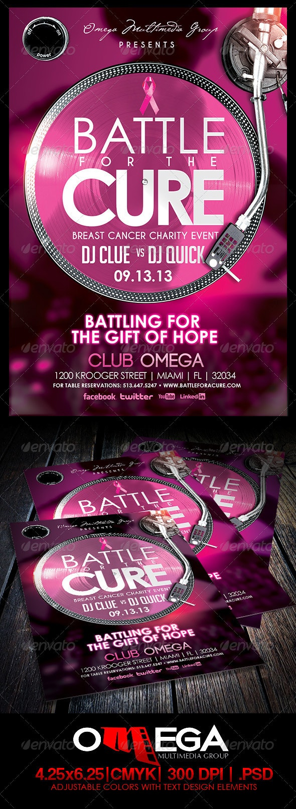 Battle for a Cure - Clubs & Parties Events