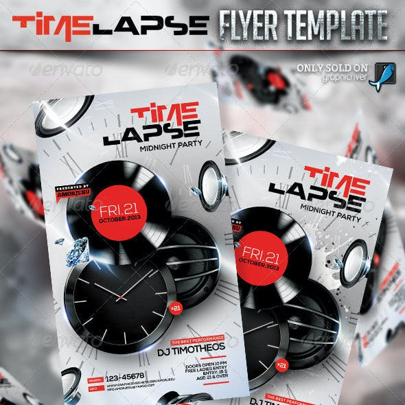 Time Lapse Flyer Template