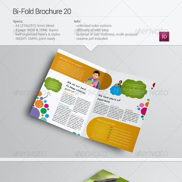 Bi-Fold Brochure 20