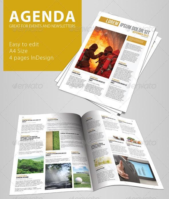 Agenda - Magazines Print Templates