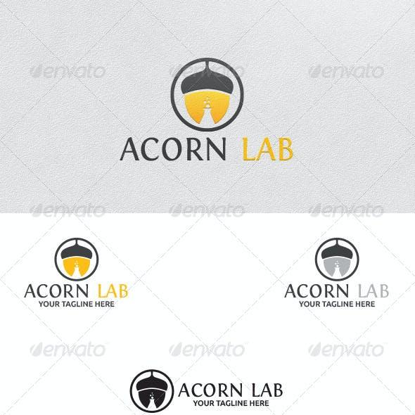 Acorn Lab - Logo Template