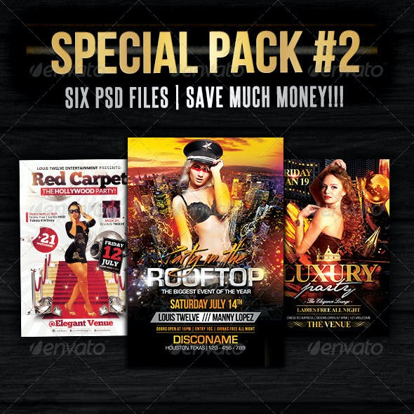 Special Bundle 02 | Flyers + Fb Covers