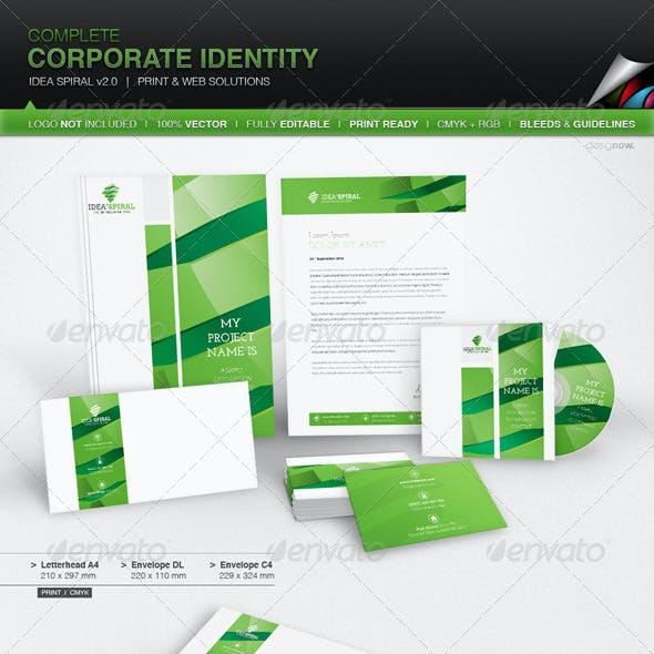 Corporate Identity - Idea Spiral v 2.0