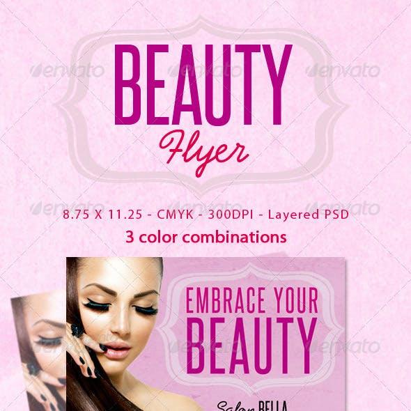 Beauty Flyers