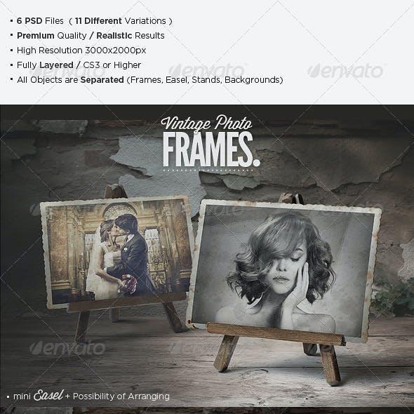 Premium Vintage Photo Frames