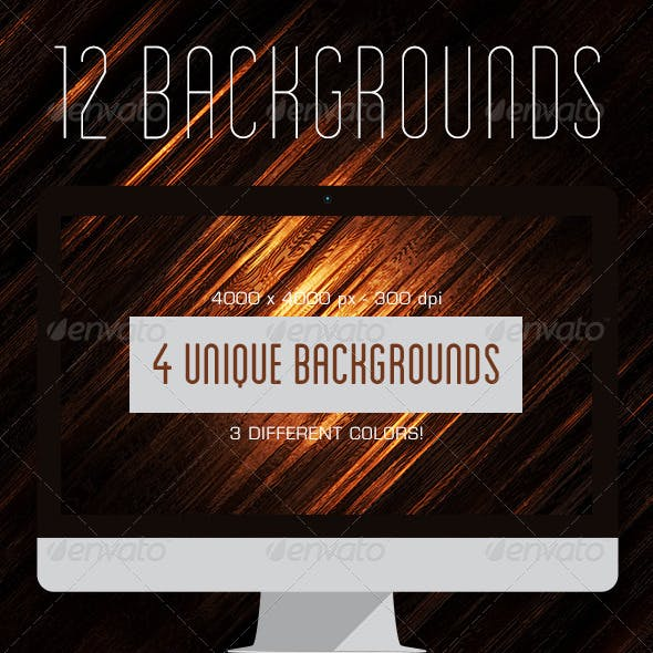 12 Intense Wood Backgrounds