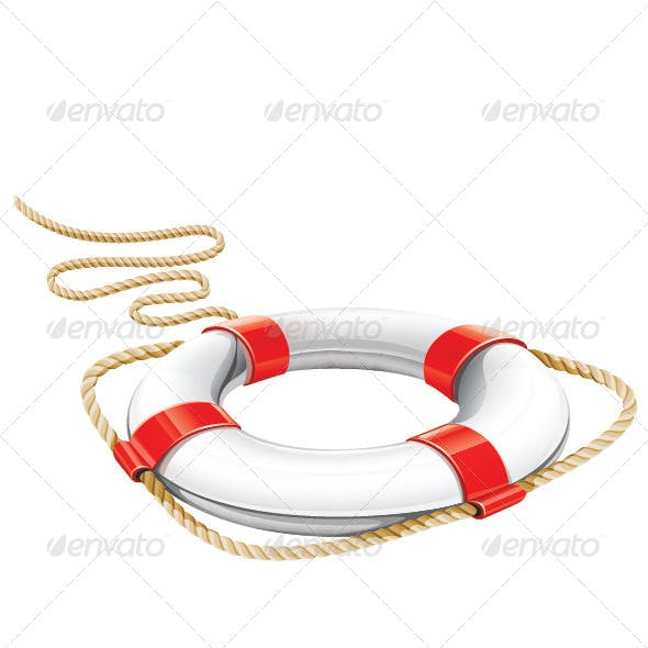 Lifebuoy Rescue and Rope