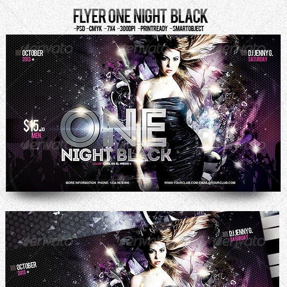 One Night Black
