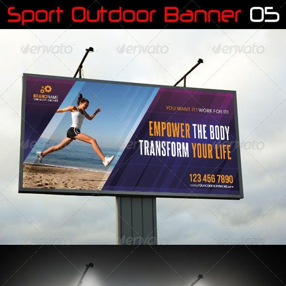 Sport Outdoor Banner 05