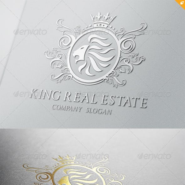 King Real Estate Logo V1