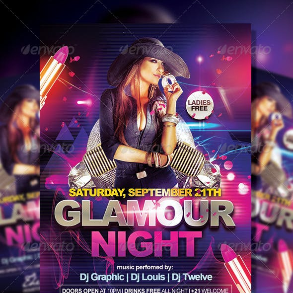 Glamour Night | Flyer Template