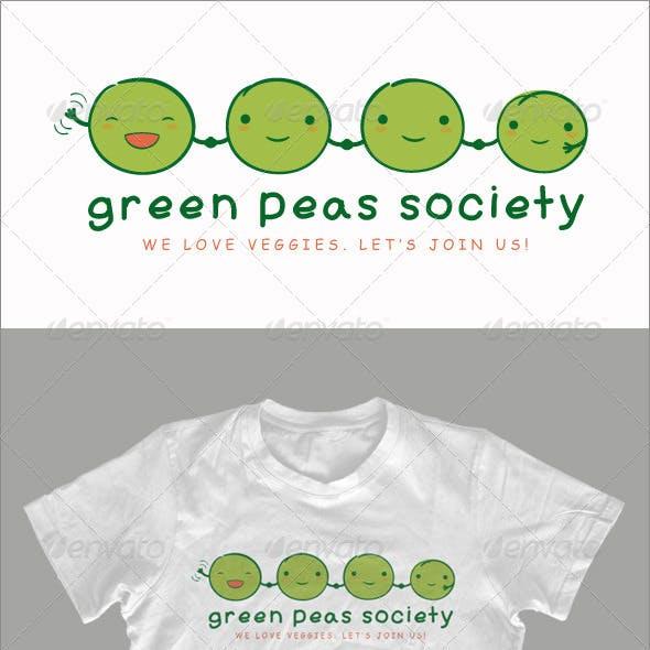 Green Peas Society - T-shirt