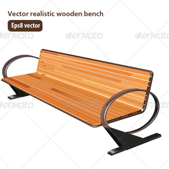Sensational Bench Park Graphics Designs Templates From Graphicriver Machost Co Dining Chair Design Ideas Machostcouk