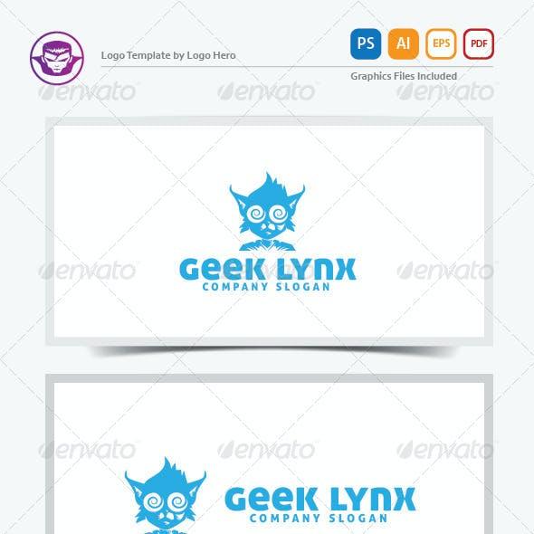 Geek Lynx Logo Template