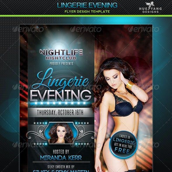 Lingerie Evening Flyer