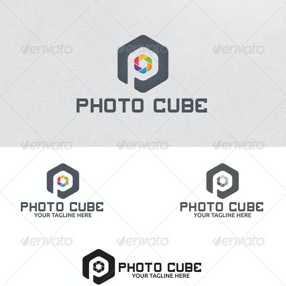 Photo Cube - Logo Template