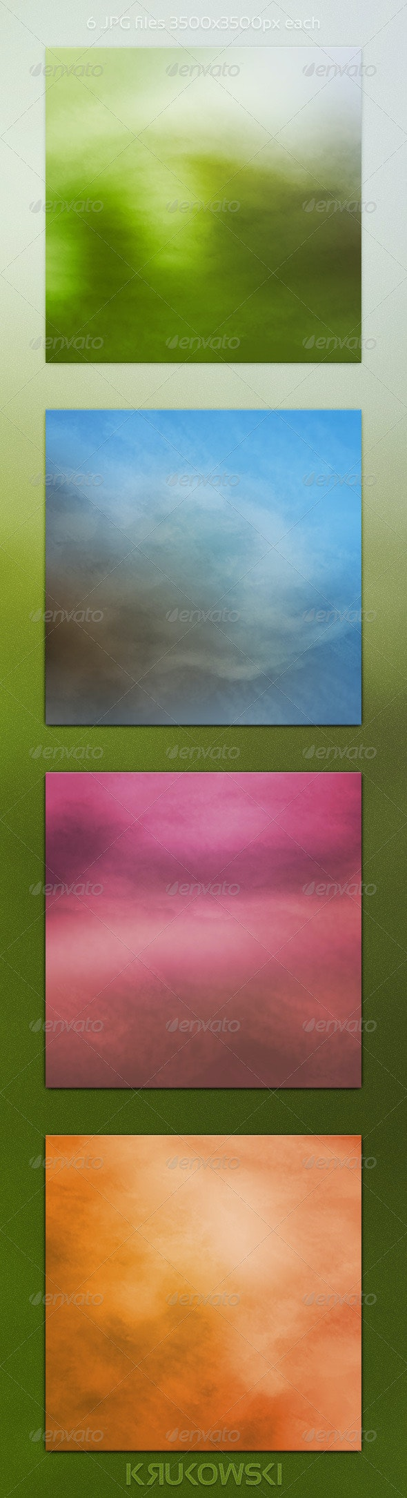 Watercolour Backgrounds - Abstract Backgrounds