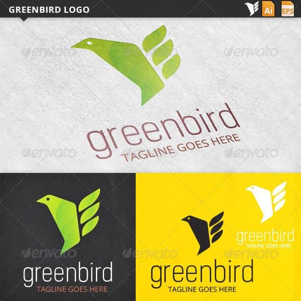 Greenbird Bird Logo Template