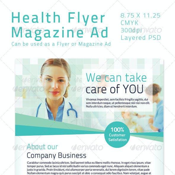 Health Flyer/ Magazine Ad