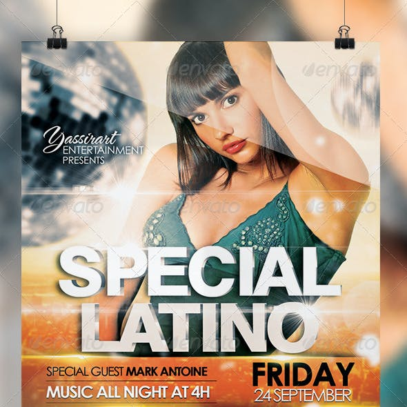 Special Latino Flyer