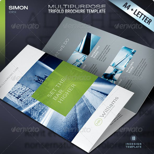 Trifold Brochure - Vol. 1
