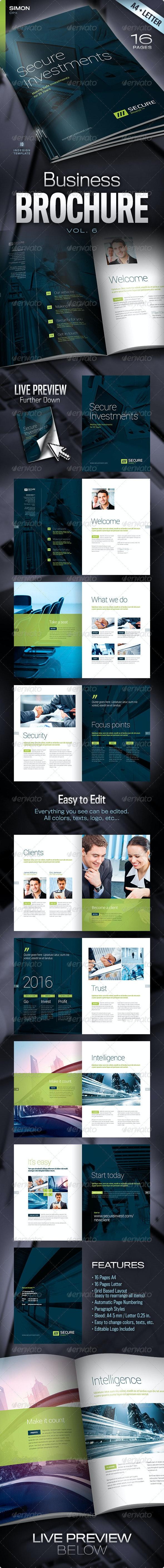 Business Brochure Vol. 6 - Corporate Brochures