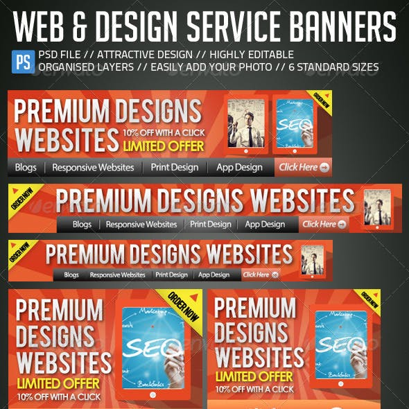 Web & Design Banners / Ad Kit