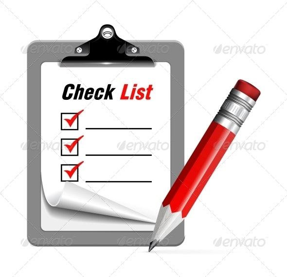 Check List - Man-made Objects Objects