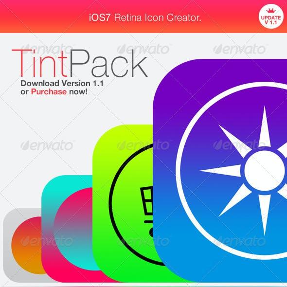 Retina Icon Creator - TintPack