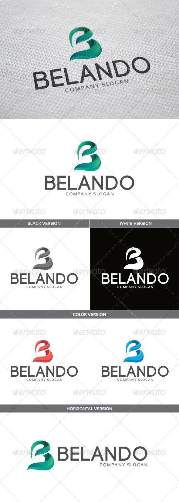 Belando Logo - Letters Logo Templates