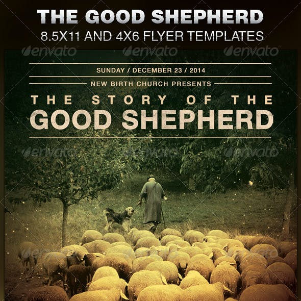 The Good Shepherd Church Flyer Template
