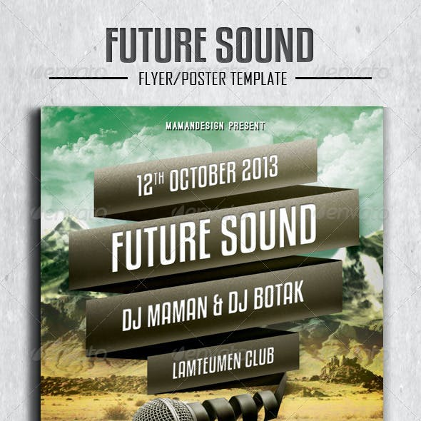 Future Sound Flyer/Poster