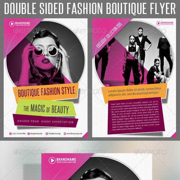 Fashion Product Flyer 01