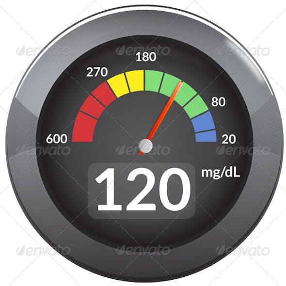 Glucose Meter - Illustration