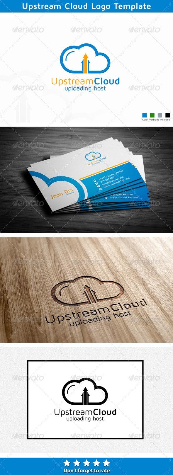 Upstream Cloud - Symbols Logo Templates