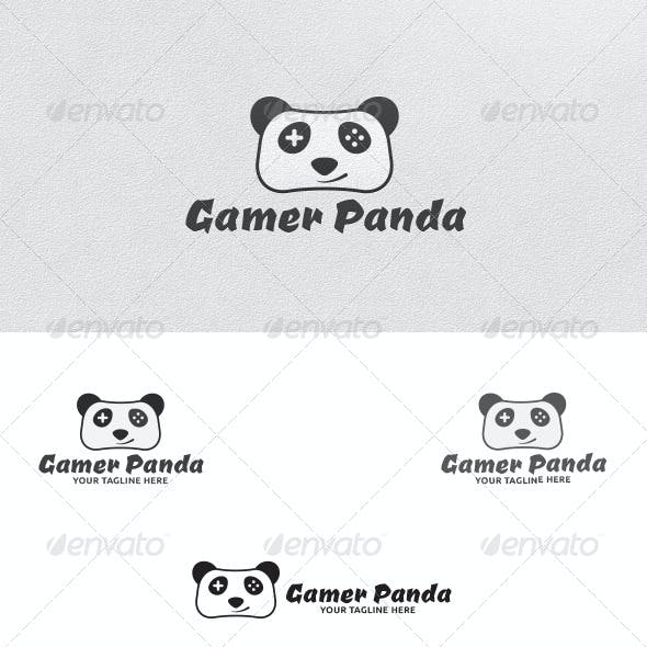 Gamer Panda - Logo Template