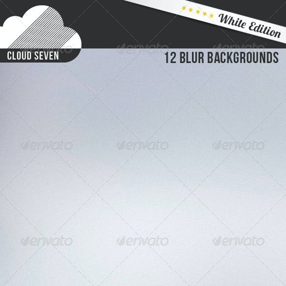 White Edition: 12 Blur Backgrounds