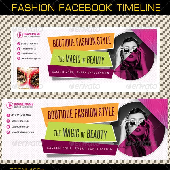 Fashion Facebook Timeline 02