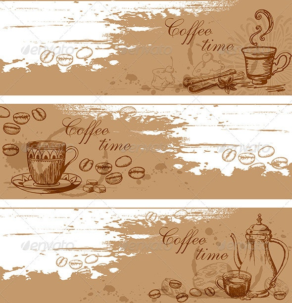Coffee Backgrounds - Food Objects