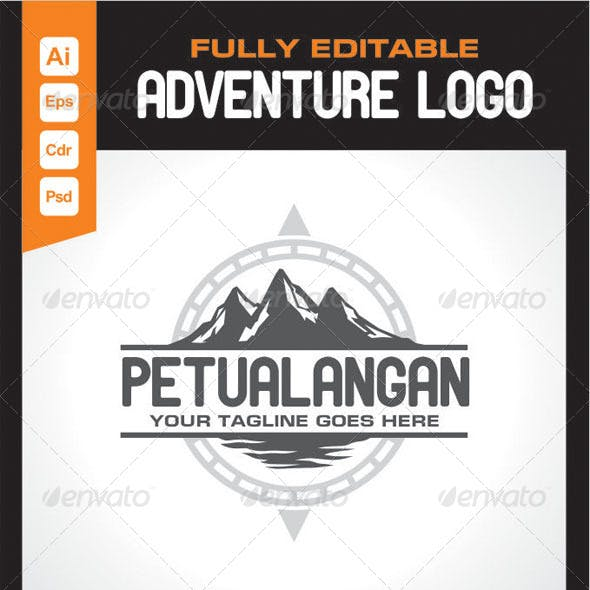 Adventure Logo Template Petualangan
