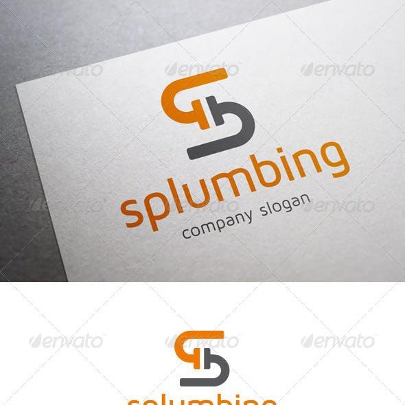 Splumbing S Letter Logo