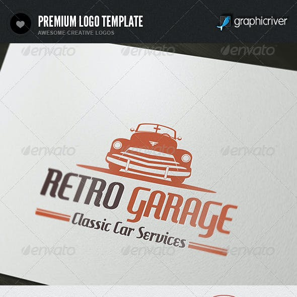 Retro Garage Logo