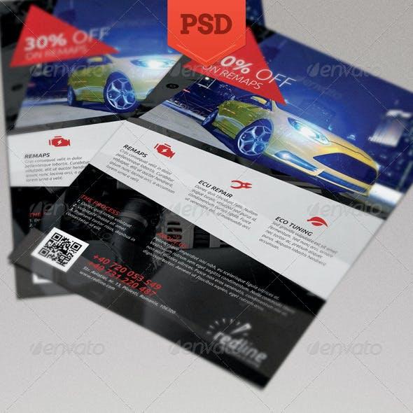 Redline Auto Flyer
