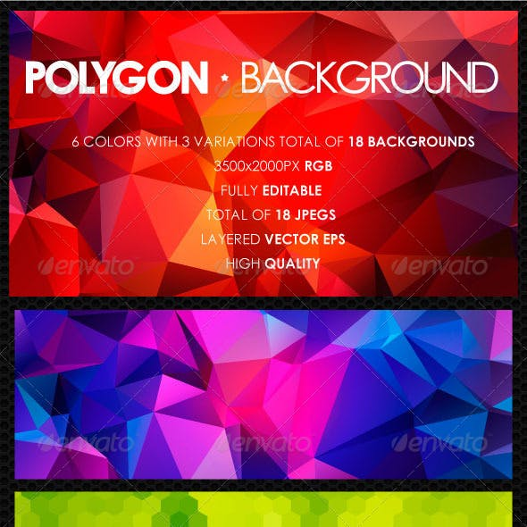 Polygon Background Vol. 1