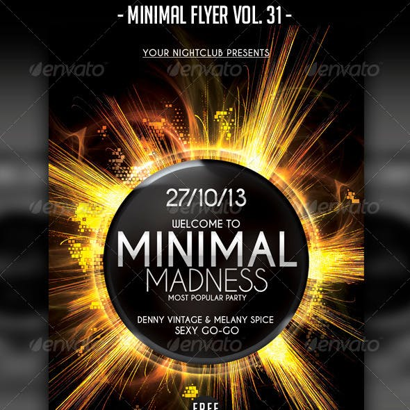 Minimal Flyer Vol. 31