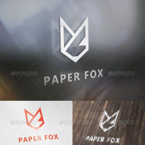 Paper Fox Logo