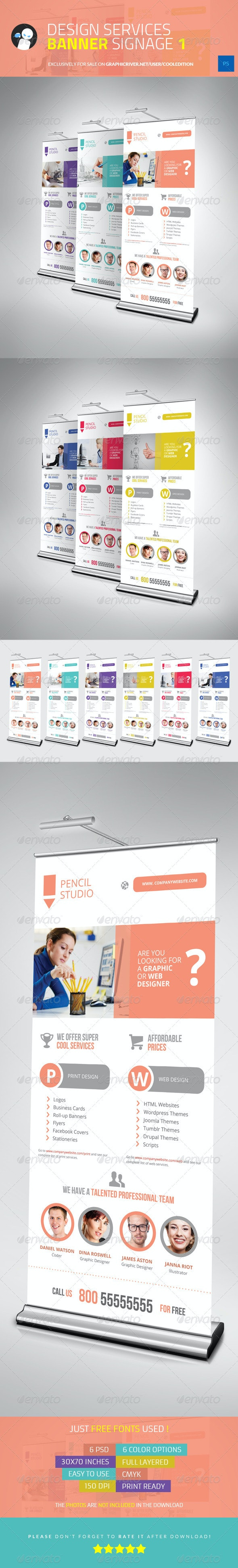 Design Services Banner Signage 1 - Signage Print Templates