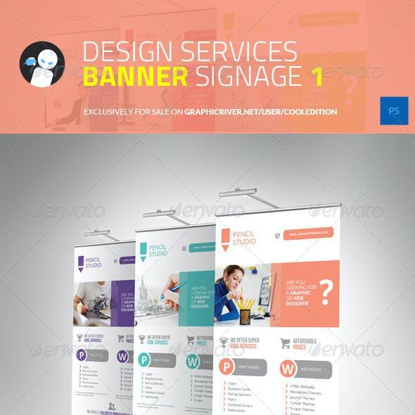Design Services Banner Signage 1