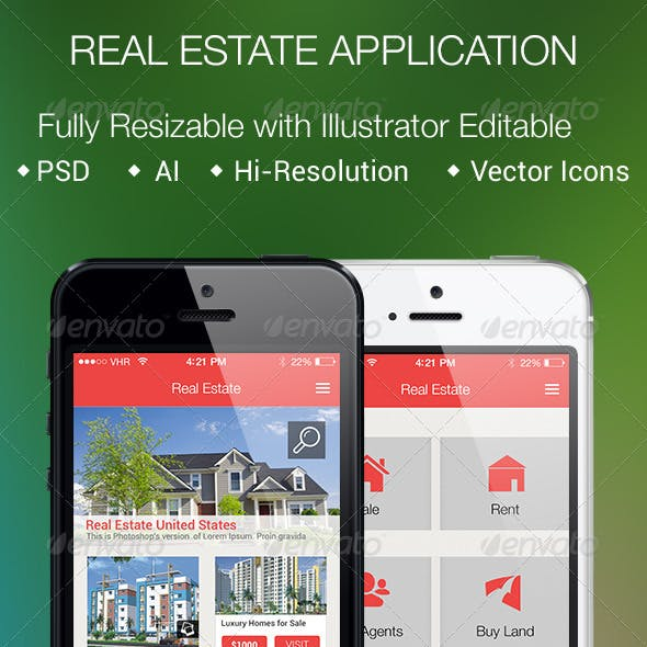 Real Estate Application for Smartphones