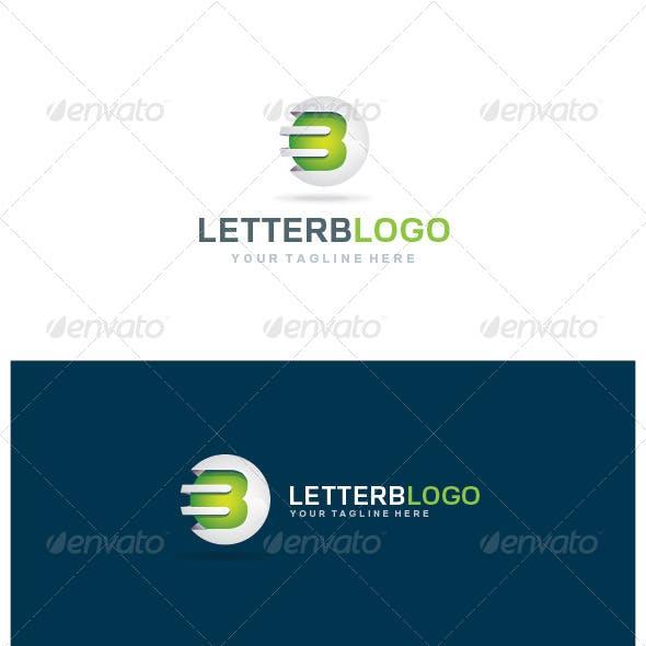 Letter B 3D logo